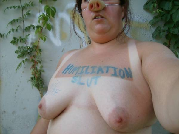 Obese bdsm humiliated