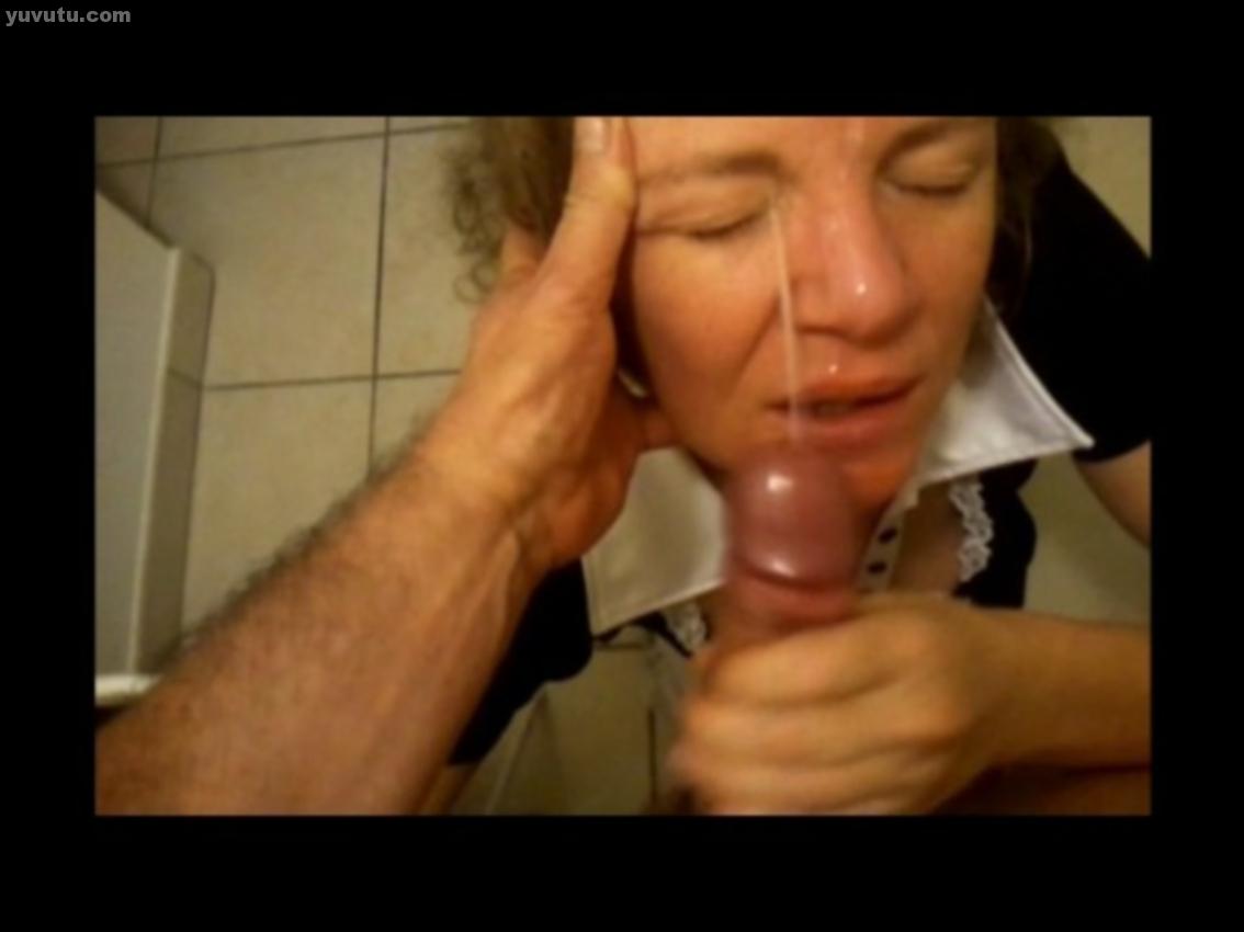 Gagging slut throat