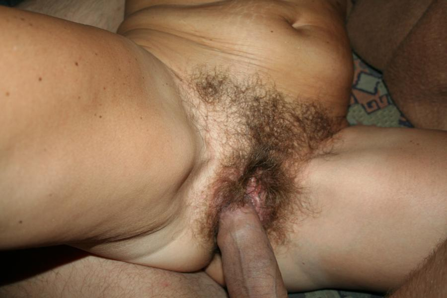 Homemade hairy wife