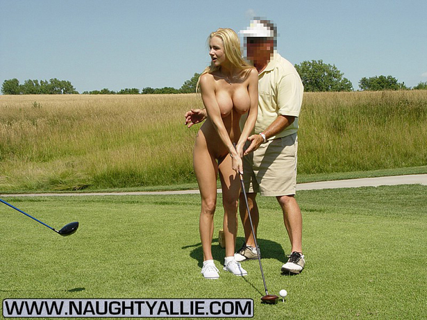 Golf naughty allie