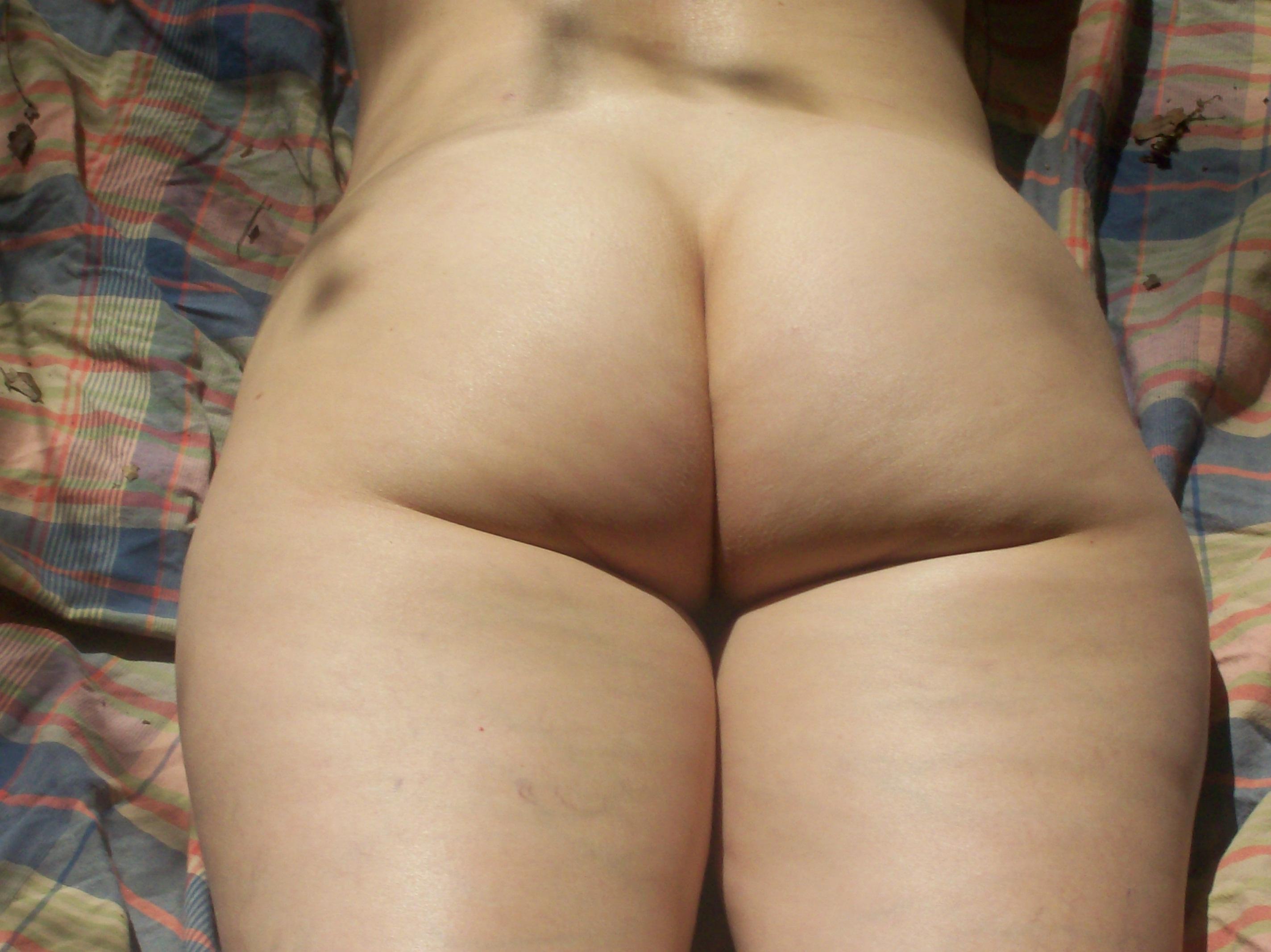 Amateur outside anal