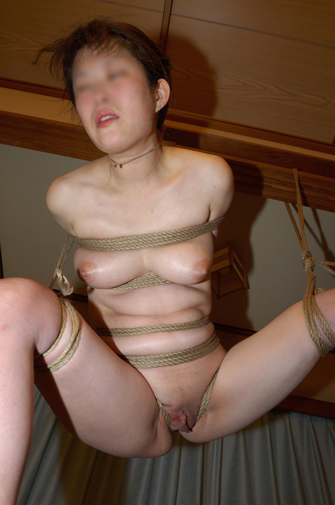 She's homemade bondage porn