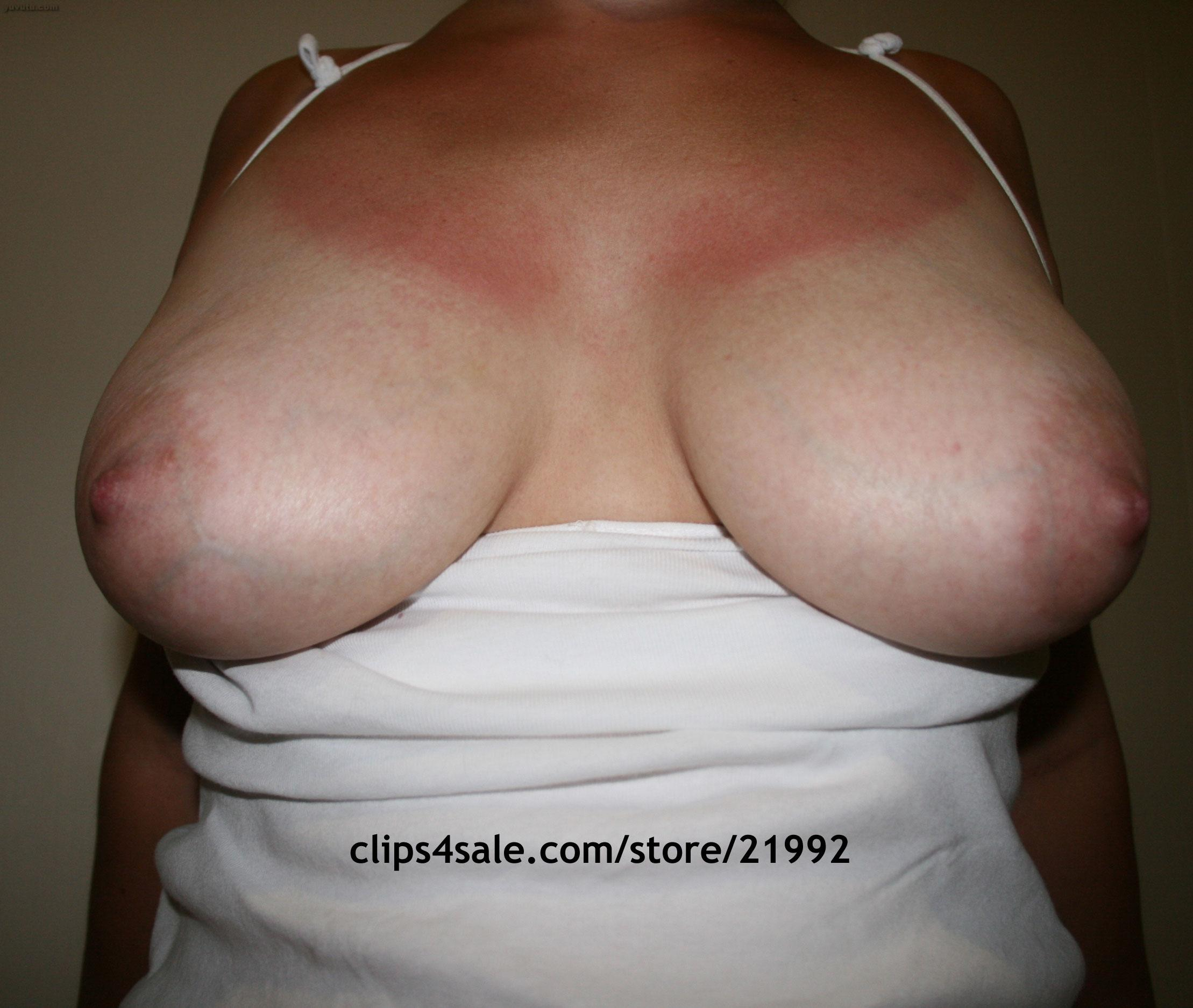 Bbw tits saggy