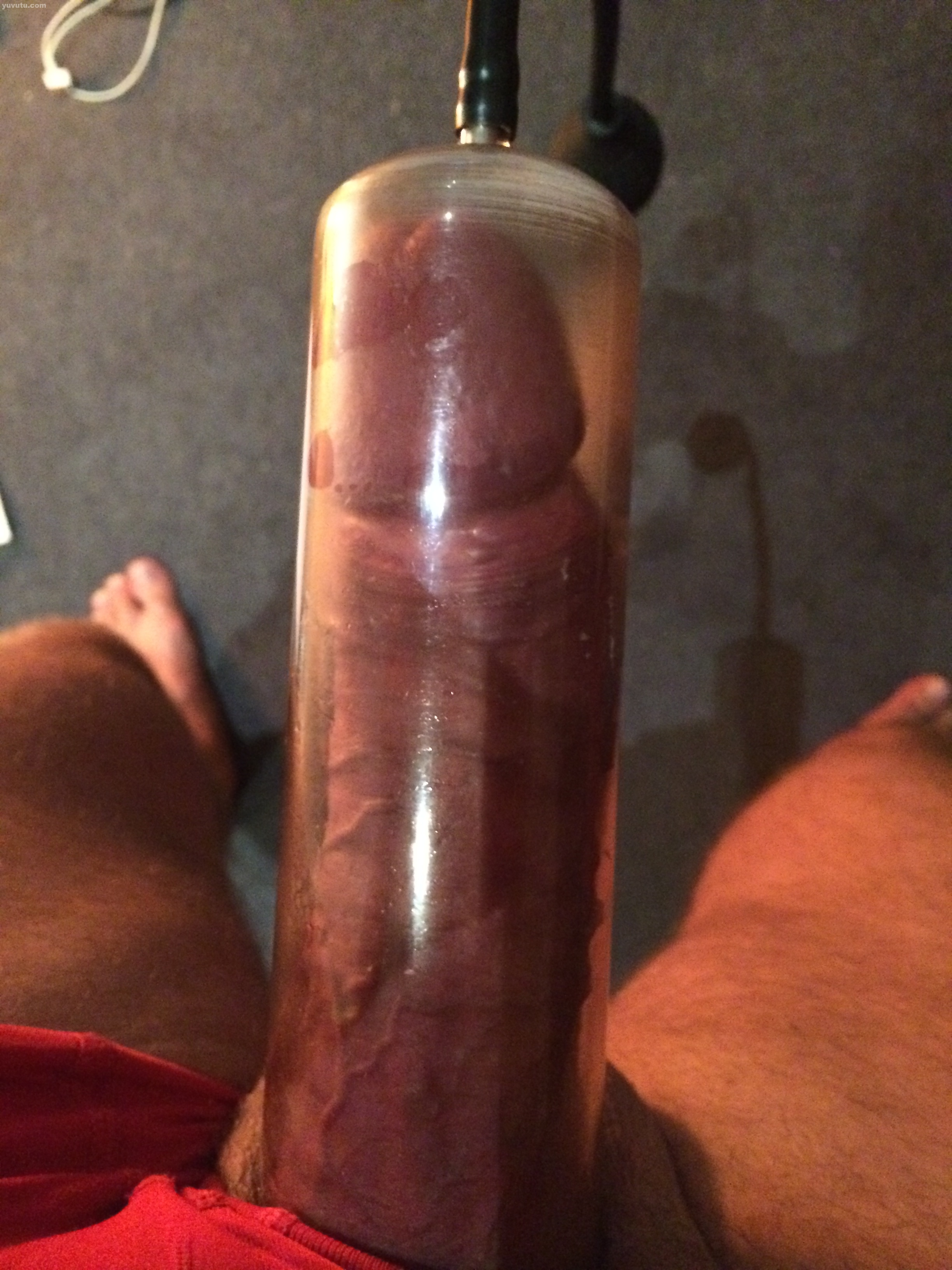 Pumped Masturbated Cock