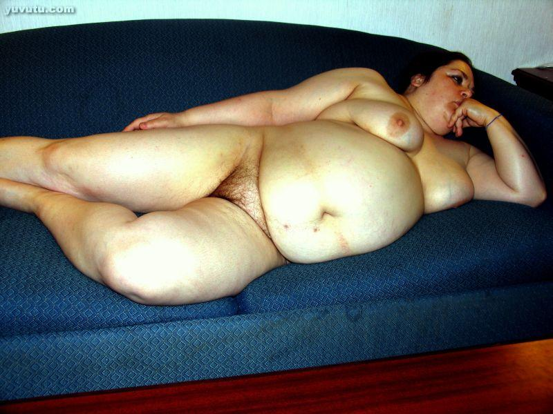 Hairy nude fat wife