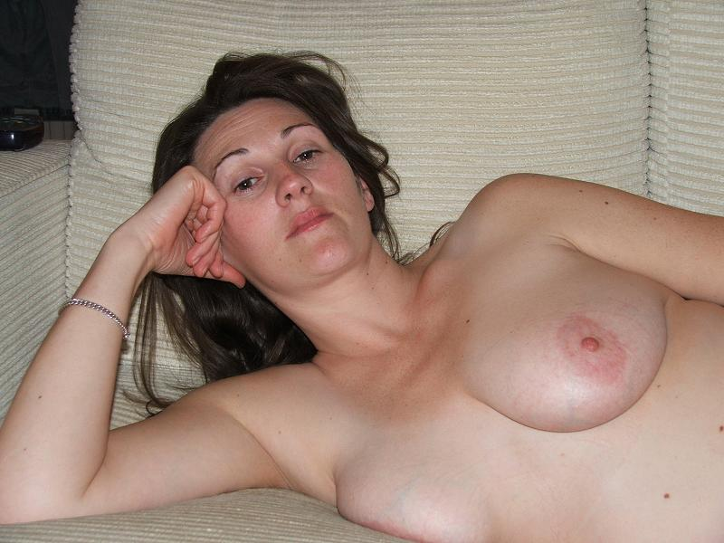 Milf wife boobs