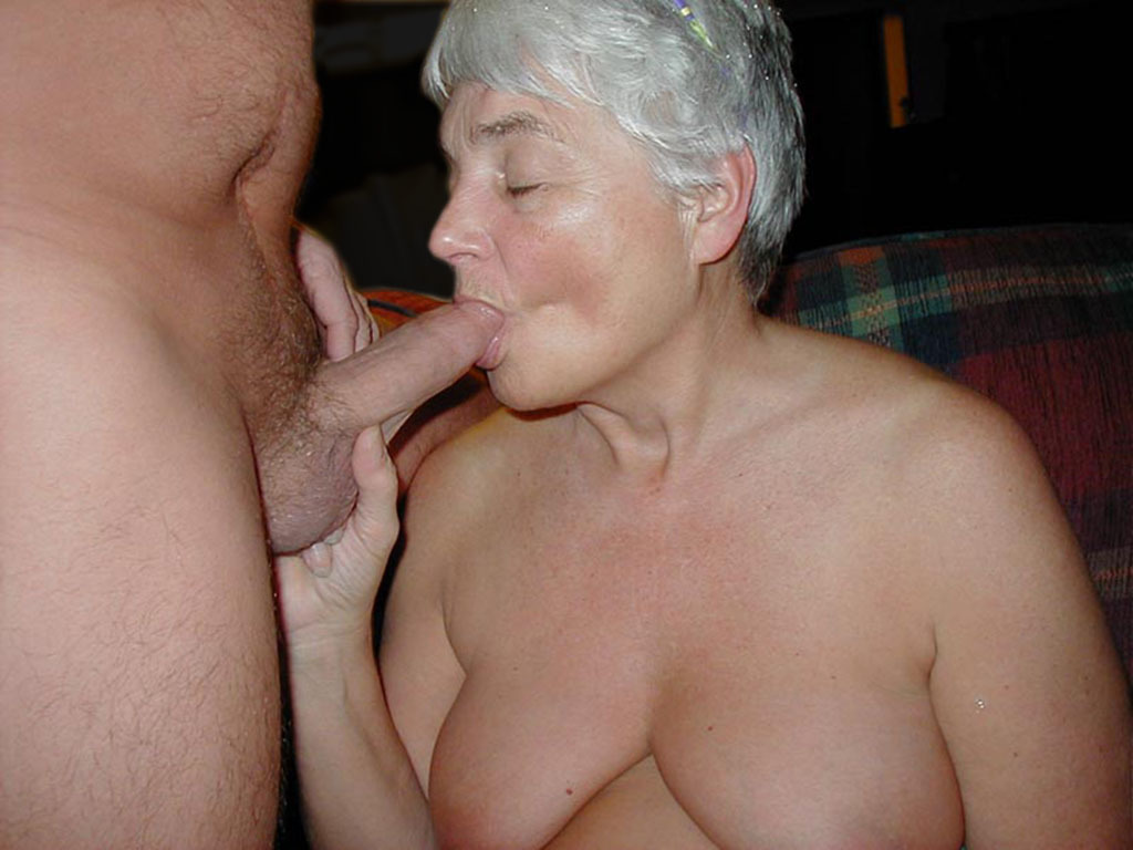 Granny loves cum smokin'