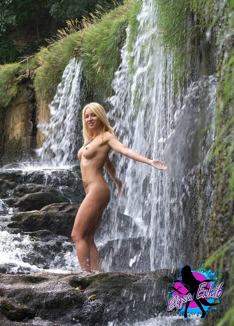 This excellent xxx sex at a waterfall theme