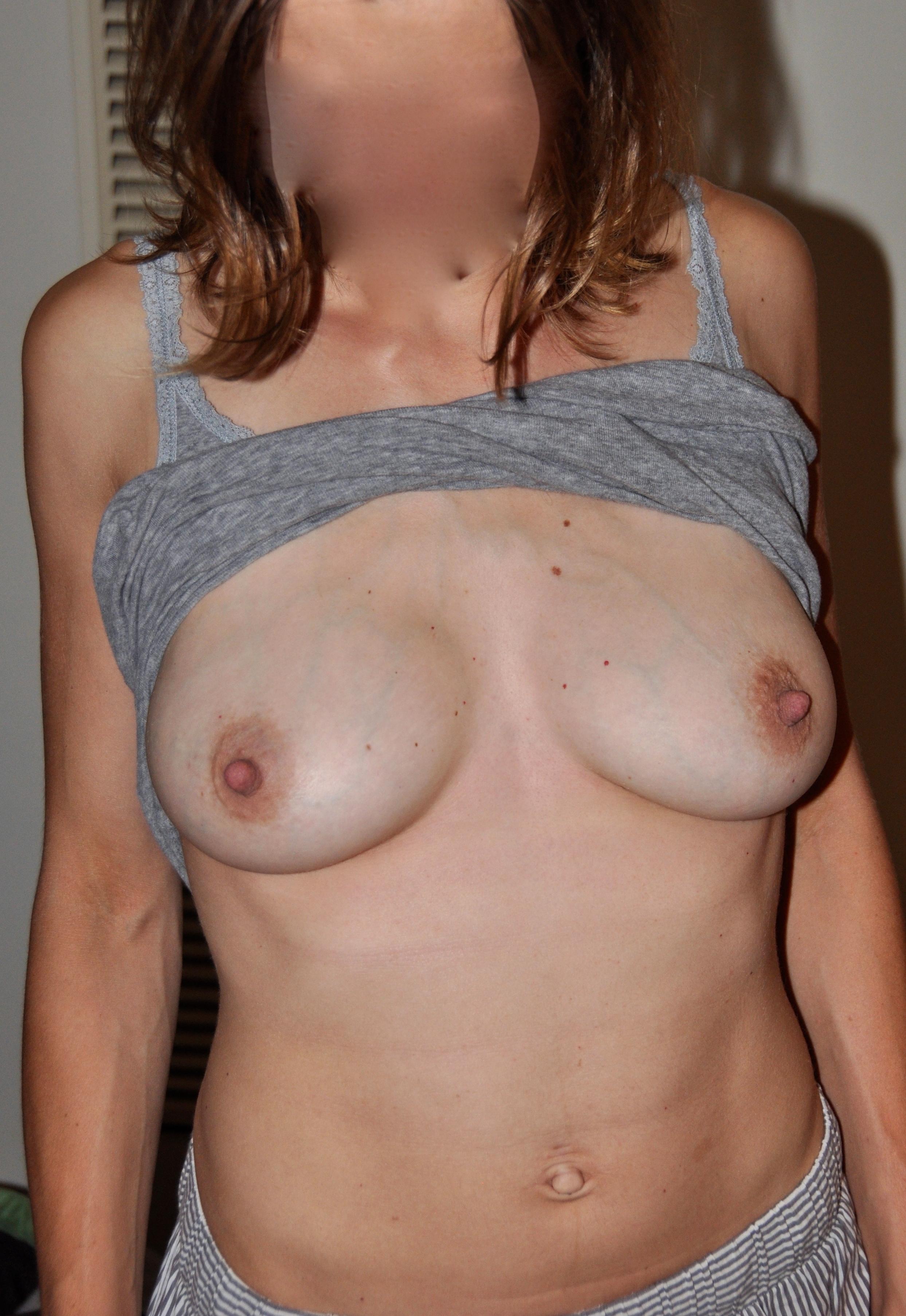 Wife boobs sex