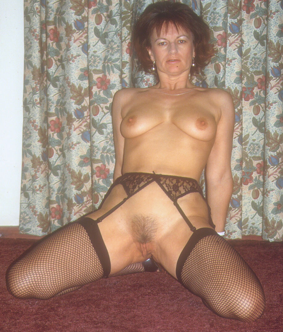 Suspenders Mature And Stockings
