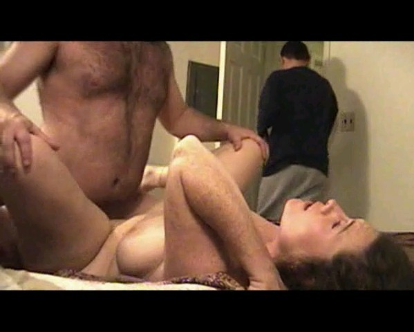 Hairy ass cumshot