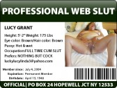 LucyGrant  ID  card