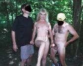 Coco the slut outdoor, sex bareback, sucking and...