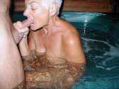 Granny's hot tub