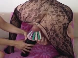 Bizzare - Abmelken von hinten