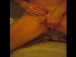 - Kat makes her kitty throb