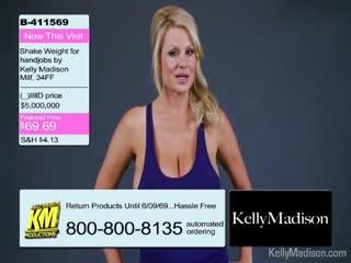 Funny - Kelly Madison Promotes The Jack Weight Handjob E...