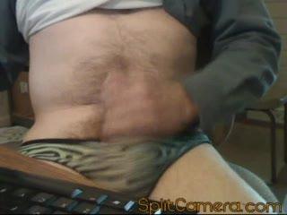 Masturb. masculina - jacking in panties