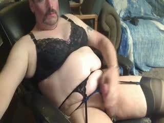 - CrossDresser SissyPaul jerks off and cums