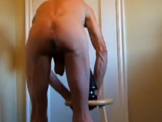 Bizzare - Huge Ass Stretching Butt Plug and Squirting Bare...
