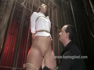 BDSM - Ten gets tied and made to cum repeatedly