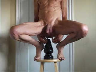 Bizzare - Plugged in my Cock and Ass