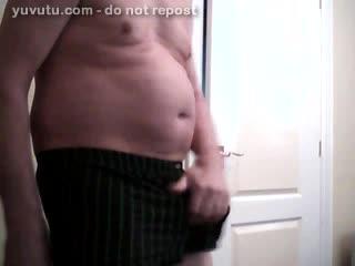 - Wanking off my 7.5in 60yo cock to a huge cumshot