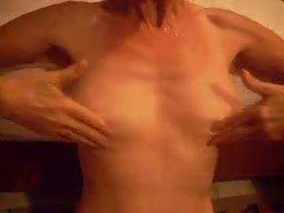 Anal - éjac sur les seins