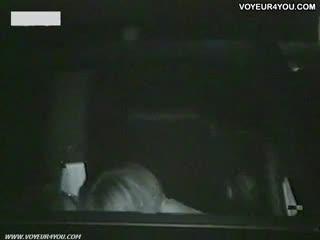 Voyeur - Car Parking Dark Night Sex
