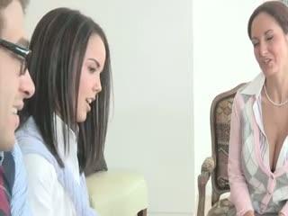 Madurez - Sexy teacher Ava Addams teaches Dillion Harper s...