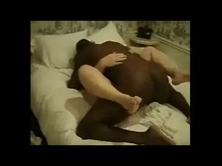 Interracial - Big black cock pounding.