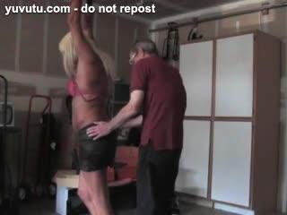 BDSM - jenn's turn in the garage