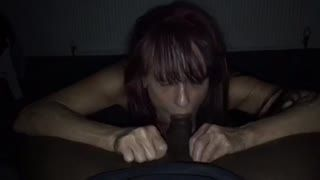 Blow Job - Oral goddess doing her duties