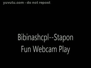 Harnais - Bibinashcpl--Ms. BiBi Uses Strapon on Mr. Bibi