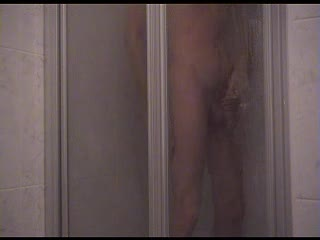 Masturb. masculine - douche et branlette