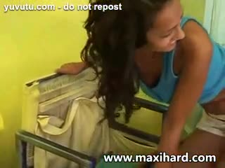 Dreier - Hot tanned ***** brunette gets stuffed