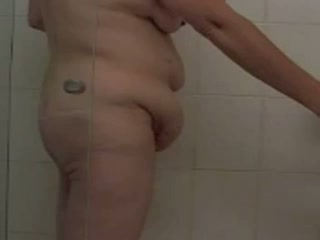 - Some fun in a Motel Shower