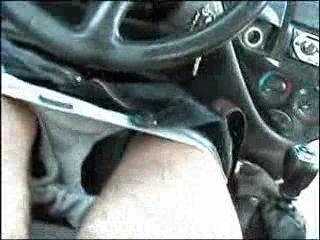 pompino in auto