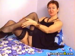 Webcam - Busty milf masturbating webcam