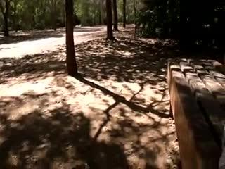 - Maturbandose en el parque