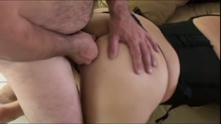Cum Shot - Levrette en double et grosse ejaculation faciale