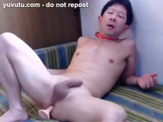 Male Masturbation - FREE HAND CUMSHOT > SELF-FACIAL CUMSHOT