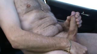 Ejaculation - car cum