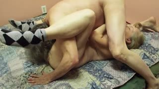 Cumshot - Independence day fuck with divorced wife