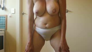 Fetish - peeing in white panties