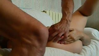Blow Job - nice mature bottom