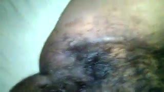Examen/Pose - Juicy Hairy Pussy Closeup