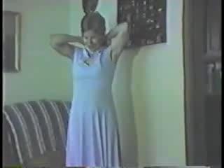 Mature - Donna's Blue Dress