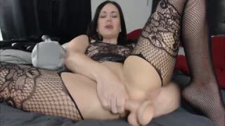 Anal - Curvy brunette kitten squirting pussy while fuck...