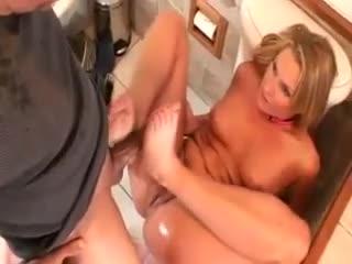 Fetish - Sexy special footjob massage